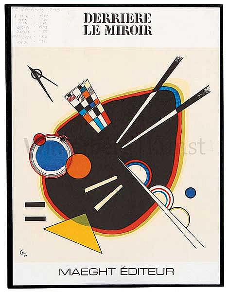 Wassili kandinsky moskau 1866 1944 paris derri re le mi for Derriere le miroir