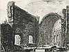 GIOVANNI BATTISTA PIRANESI, Mogliano 1720 - 1778 Rom:   Avanzi di una Sala... nella Villa Adriana in Tivoli., Giovanni Battista Piranesi, €1,200