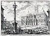 GIOVANNI BATTISTA PIRANESI, Mogliano 1720 - 1778 Rom:   Veduta della Basilica di Santa Maria Maggiore..., Giovanni Battista Piranesi, €2,000