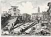 GIOVANNI BATTISTA PIRANESI, Mogliano 1720 - 1778 Rom:   Veduta del Romano Campidoglio con Scalinata..., Giovanni Battista Piranesi, €2,400