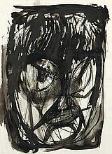 """HANNES LOOS#29;, Weimar 1913 - 1987 Düsseldorf: """"Kopf""""."""