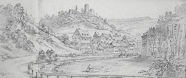 GEORG OSTERWALD Rinteln/Weser 1808 - 1884 Köln
