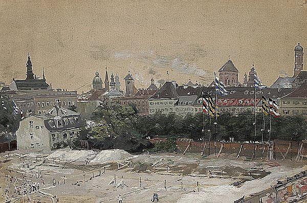 WILHELM (WILLY) SPATZ 1861 - Düsseldorf - 1931,