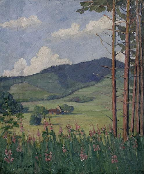 JULIUS KOCH Achern 1882 - 1952 Stuttgart,