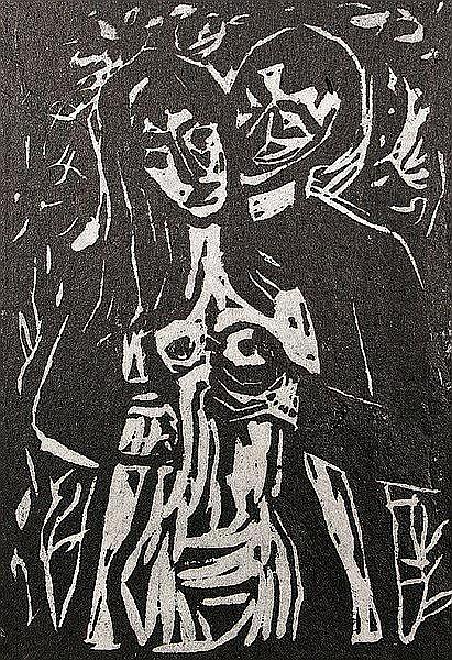 WERNER KORNHAS 1910 - Karlsruhe - 1992, Liegender