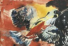 Fliegender Kolibri.