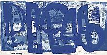 Composition en Bleu.