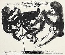 MARLENE DUMAS, Kapstadt 1953 - tätig in Amsterdam: Imitating the Fathers.