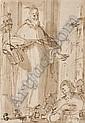 ALLESSANDRO CASOLANI, auch ALESSANDRO DI AGOSTINO, gen. ALESSANDRO DELLA TORRE Segnender Heiliger., Alessandro Casolani, Click for value
