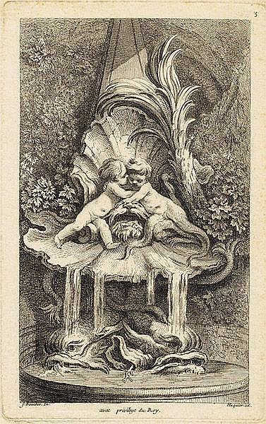 GABRIEL HUQUIER, gen. HUQUIER LE PERE Orléans 1695