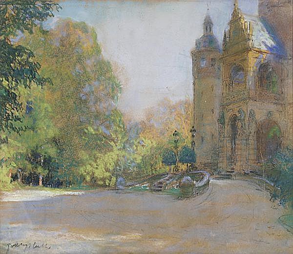 FRANZ HUTH Pößneck/Thüringen 1876 - 1970 Weimar