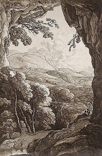 JOHANN THEOPHILUS PRESTEL, eigentl. GOTTLIEB PRESTEL Grönebach 1739 - 1808 Frankfurt/M.