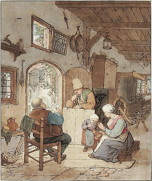 CORNELIS PLOOS VAN AMSTEL Weesp 1726 - 1798 Amsterdam