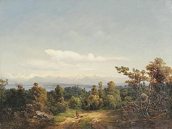 ADOLF HEINRICH LIER - zugeschrieben Herrnhut/Oberlausitz 1826 - 1882 Wahren/Südtirol