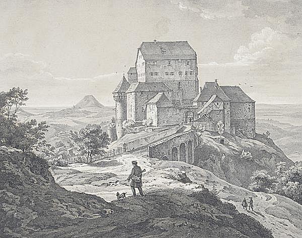 ERNST FRIES Heidelberg 1801 - 1833 Karlsruhe