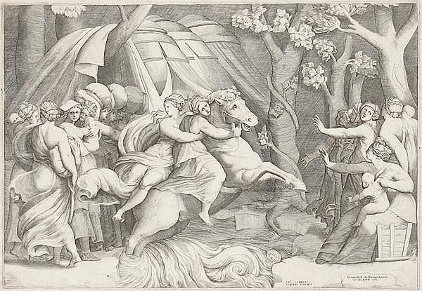 GIULIO BONASONE tätig um 1531 - 1574 in Rom und Bologna
