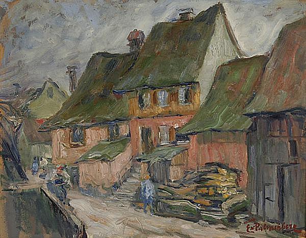 EMILIE VON PALMENBERG Baden-Baden 1864 - 1931 München