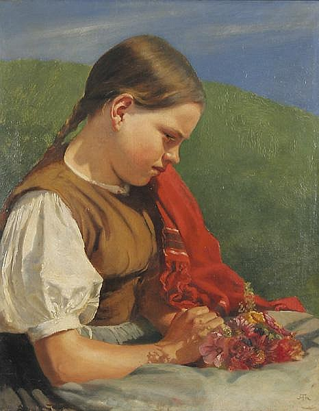 HANS THOMA Bernau 1839 - 1924 Karlsruhe