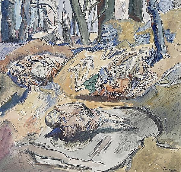 RENE BEEH 1886 - Straßburg - 1922