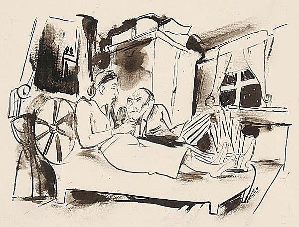 WALTER BECKER Essen 1893 - 1984 Dießen am Ammersee