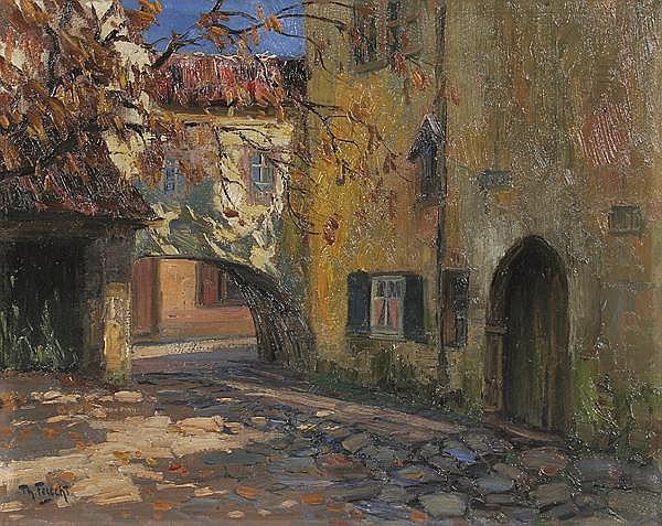 THEODORE FEUCHT Ludwigsburg/Wttbg. 1867 - 1944 München