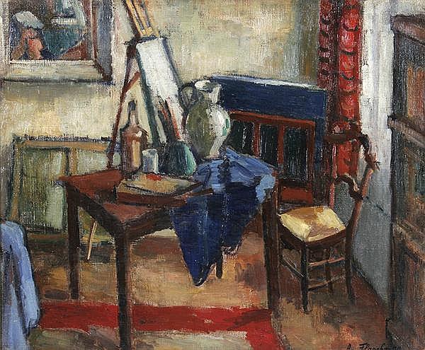 ALEXANDRE FLASCHNER Mochovece/Slowakei 1903 - 1995 Paris