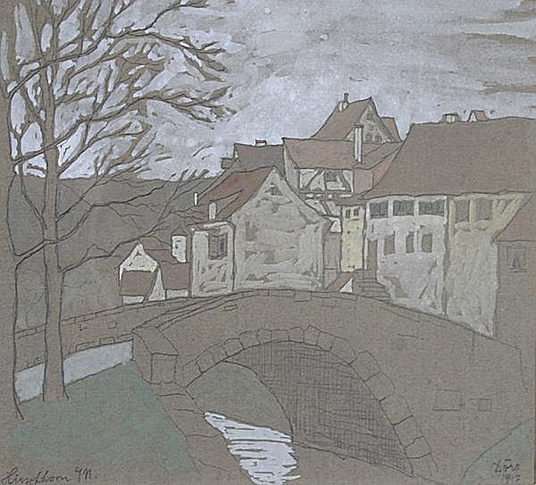FERDINAND DÖRR Bad Dürrheim 1880 - 1968 Karlsruhe