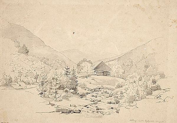 MAX WOLF Gissigheim 1824 - 1901 Heidelberg