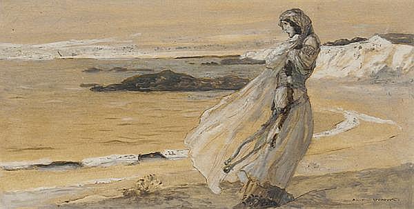 AUGUSTE FRANCOISE-MARIE GORGUET Paris 1862 - 1927 (?)