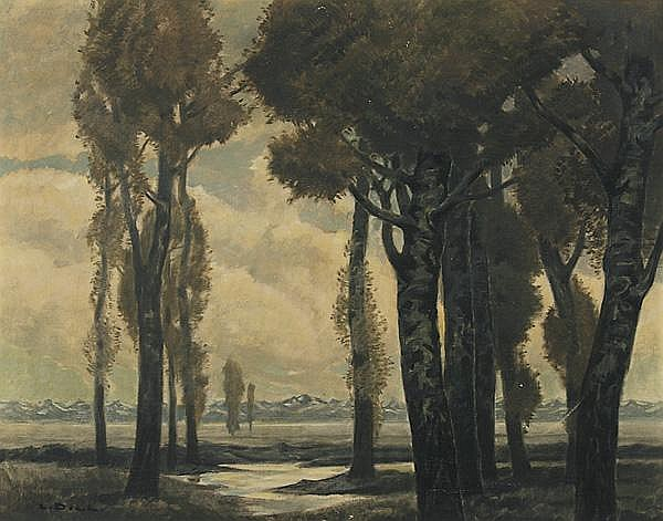 LUDWIG DILL Gernsbach/Rastatt 1848 - 1940 Karlsruhe