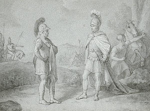 JOHANN HEINRICH RAMBERG - zugeschrieben 1763 - Hannover - 1840