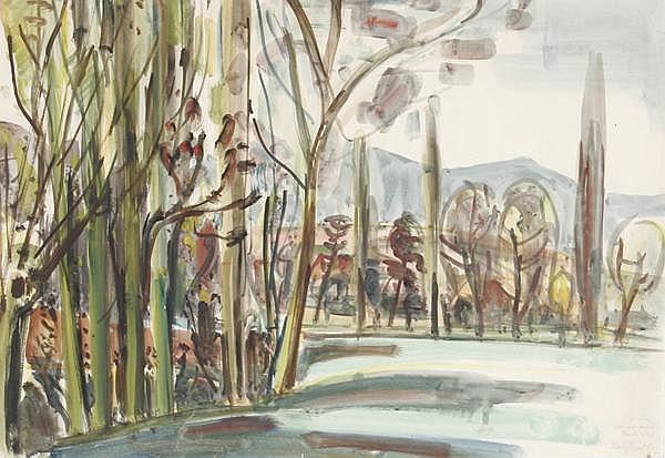 ROLF MÜLLER-LANDAU Kayingchow 1903 - 1956 Bad Bergzabern