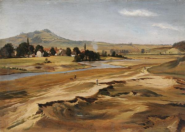 EDMUND FRIEDRICH KANOLDT Großrudestedt 1845 - 1904 Bad Nauheim