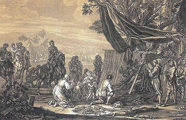 CHRISTIAN RUGENDAS 1708 - Augsburg - 1781 Aufbruch
