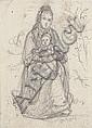 JAKOB FÜRCHTEGOTT DIELMANN 1809 - Frankfurt/M. -, Jacob Fürchtegott Dielmann, Click for value