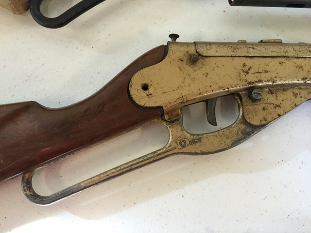 Assorted Daisy BB Gun Parts