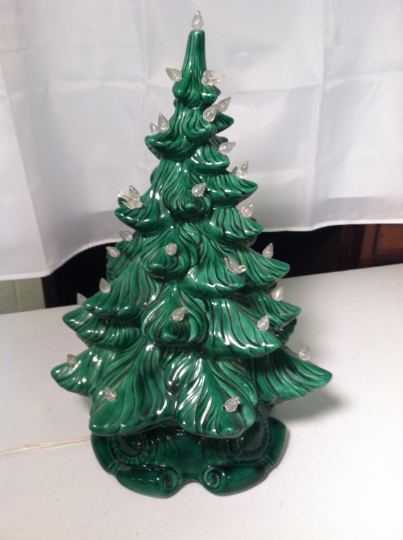 Lighted Ceramic Christmas Tree Get Ready For Next Year With This
