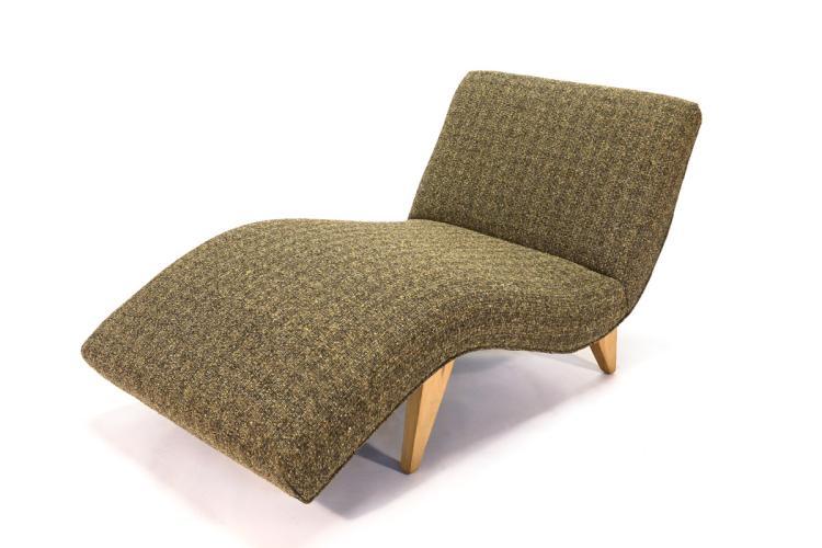Chaise Lounge by Greta Grossman for Sherman Bertram