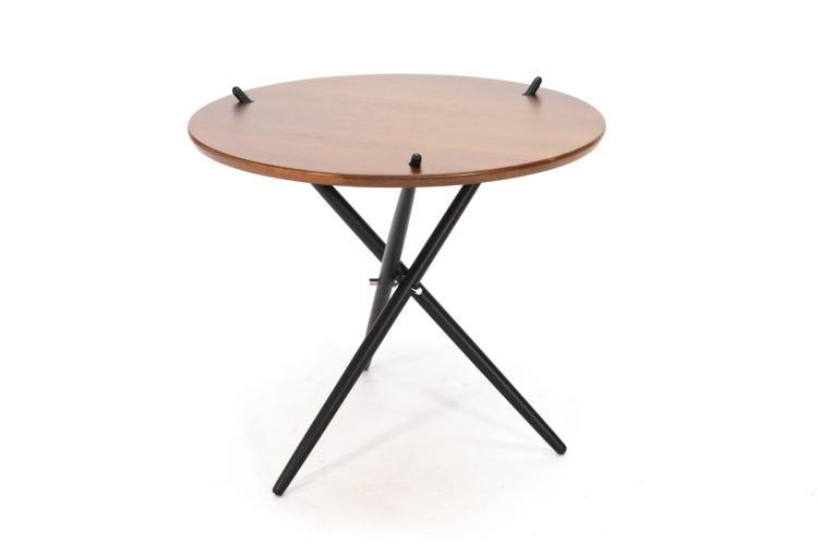 Early Knoll Tripod Table by Hans Bellmann