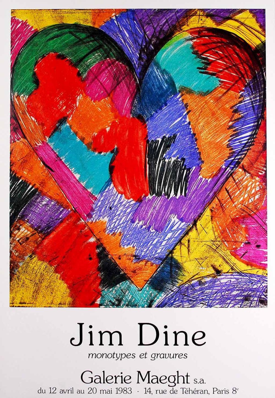 Jim Dine Affiche