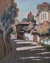 Velichko Kolarski (b. 1928, Bulgaria): Shadow Lane