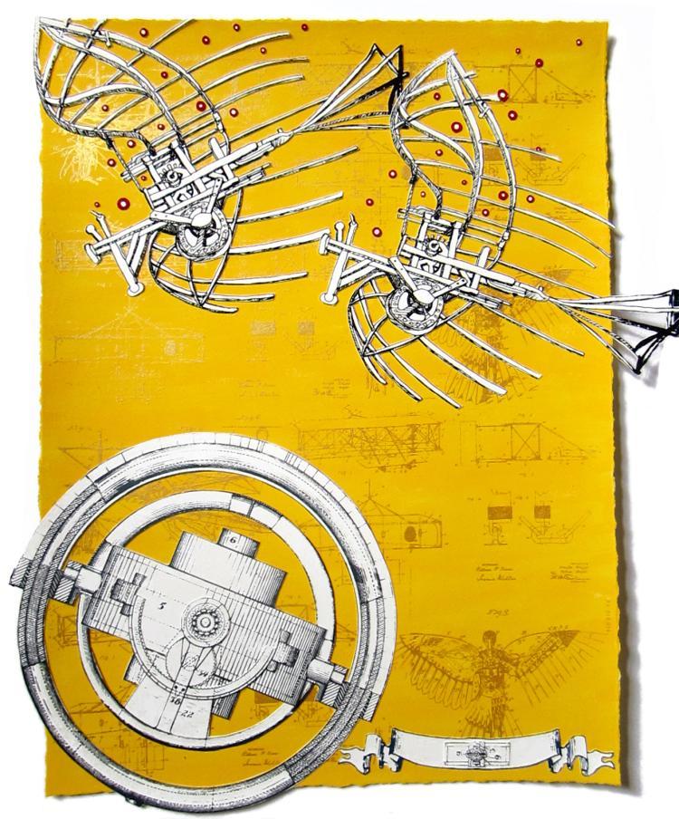 LA Hoffman: Yellow Construct
