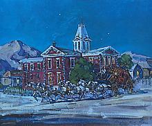 Cochise County Courthouse 1880's / Tombstone Arizona