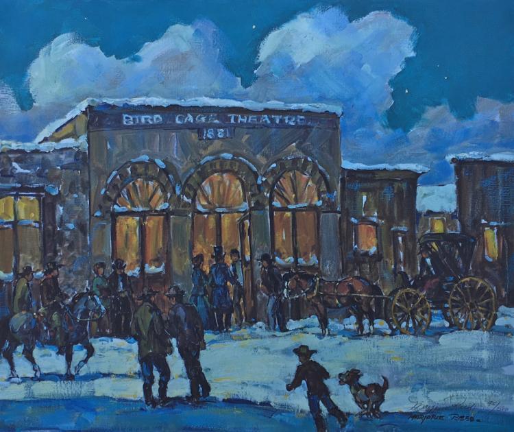 Bird Cage Theatre 1880's  / Tombstone Arizona