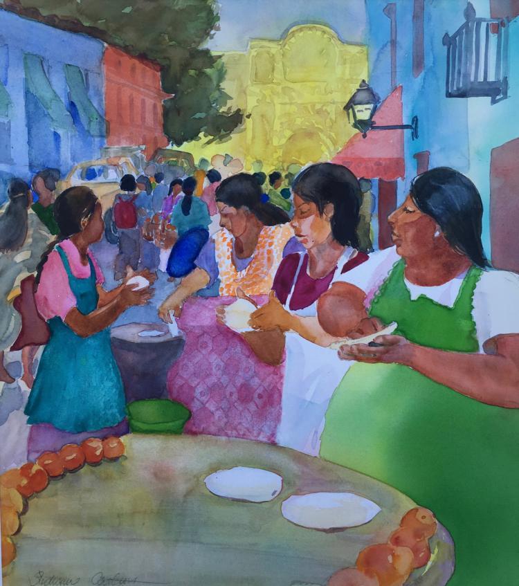 Hermosillo Market Scene (Mexico)