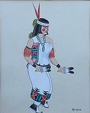 Woman Buffalo Dance