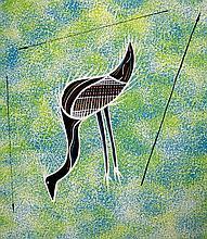 REG PENGARTE,  'Bush Tucker Series - Emu'