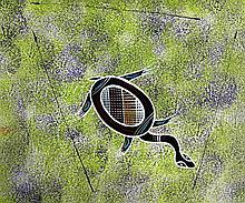 REG PENGARTE,  'Bush Tucker Series - Turtle'