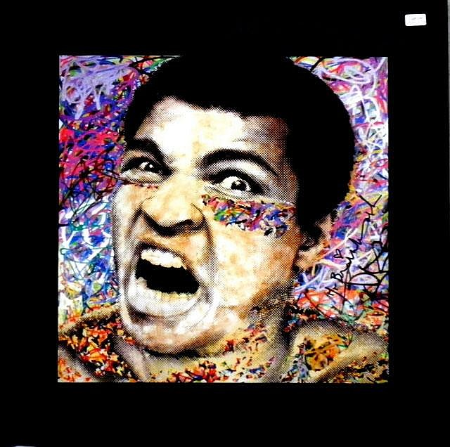 MR BRAINWASH (USA), Decorative Offset Lithograph, Title:  Ali