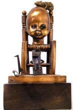 Valerio Trubbiani. Copper and bronze sculpture with certificate of authenticity. Domestic mouse